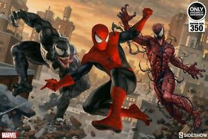 Sideshow Spiderman unframed print