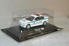 FABRI POLICE COLLECTION 2001 SLOVAKIA BMW 320 POLICE CAR 1:43 SCALE MIP