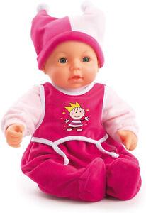 Bayer Design 9468200 Funktionspuppe Hello Baby Weichkörper Schlafaugen 46 cm