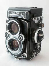 Rolleiflex 3.5F K4F (?) Schneider 75 mm f/3.5 Xenotar, meter, flat glass