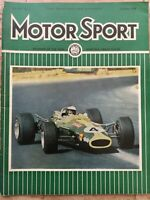 Motor Sport Magazine - February 1968 - Isotta Maybach, South Africa GP, Rallying