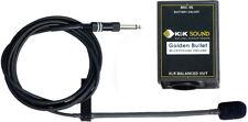 K&K Sound Golden Bullet Clip-on Stringed Instrument Microphone w/Preamp, XLR
