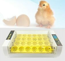 New arrival 24 egg incubator fully automatic two-level hatching machine for chic