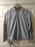 Mens Santa Cruz Skateboard Skater Long Sleeve Button Up Shirt XL