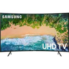 "Samsung UN55NU7300 55"" Class Smart Curved LED 4K HDR UHD TV With Built-In Wi-Fi"