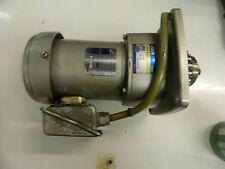 Nissei GTR Induction Geared Motor, IK-ZUB, BG3-T072, Used, Warranty