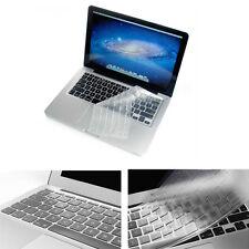 """Ultrathin Clear TPU Keyboard Cover Skin For Macbook 13"""" 15"""" Retina"""