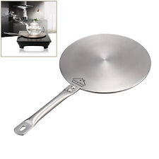 Stainless Steel Induction Cooktop Converter 21cm Disk Plate Cookware,Silver ,AU