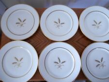 """6 VINTAGE ROSENTHAL GERMANY """"BOUNTIFUL"""" LUNCHEON PLATES - RETIRED"""