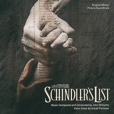 "JOHN WILLIAMS ""SCHINDLERS LISTE (OST)"" CD NEU"