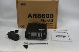 AOR AR8600-MK2 Second Edition Wideband Multiband Analog Receiver - Mark 2