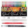 B-WARE Dual Brush Pens Kalligraphie Pinselstiftefte Fineliner 36 Farben