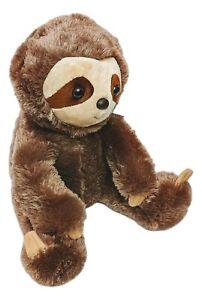 "Brown SLOTH Stuffed Animal Plush by Aurora, 14"" Tall, 50314"