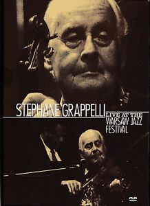 STEPHANE GRAPPELLI: LIVE AT THE WARSAW JAZZ FESTIVAL (DVD)