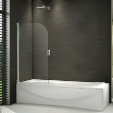 Pivot Screen Over Bath Shower Door Panel 1400mm Glass & Seal