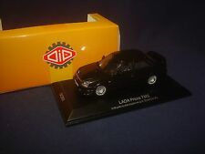 RARE! Lada Priora TMS black 2010 DiP Models resin 221706 1:43