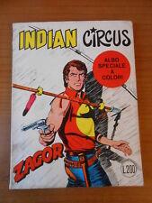 ZAGOR zenith  n.135-INDIAN CIRCUS - fumetto bonelli