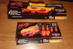 Nerf Alpha Strike Cobra RC-6 and Wolf LR-1 Blaster brand