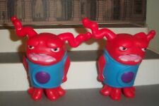 Home McDonald's OH ANGRY WIND UP LOT OF 2 ACTION TOYS RED SHAKES 3 INCH CAKE TOP