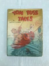 Tom Puss Tales Rare Vintage HB Book Marten Toonder with Dust Jacket c1947 JC516