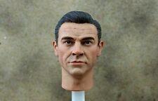 Échelle 1/6 James Bond 007 Sean Connery Head Sculpt Vêtements Daniel Nouvelle arrivée
