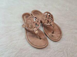 Tory Burch 'Miller' Tan Sandals Sz 9M
