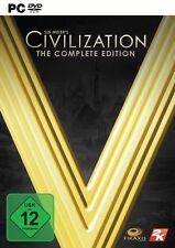 PC Computer Spiel Civilization V 5 Complete Edition Collection Gold *****NEU*NEW