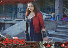 Marvel Avengers Age of Ultron Blue Foil Base Parallel Chase Card 82  #066/199