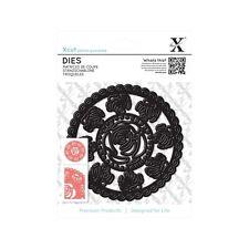 Vendita taglio trasversale universale CARD / carta metallo dettaglio intricato muore (1pc) - Rose DOILIE