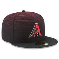 ARIZONA DIAMONDBACKS Game New Era 5950 Black Cap Baseball Fitted MLB Hat