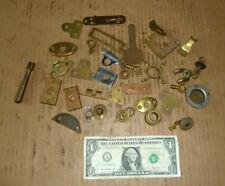 Vintage Brass Hardware,House,Boat,Nautical,Barn,Cabinet,Door,Desk,Tool Parts,OLD