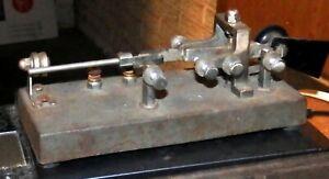 Scarce  electric specialty co Cedar Rapids Telegraph Key