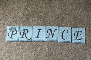 Prince  Baby Shower Bunting/banner decoration