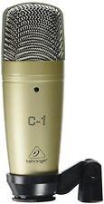 Behringer c-1 MICROFONO A CONDENSATORE STUDIO PROFESSIONALE GRANDE-Diaframma Audio Kit