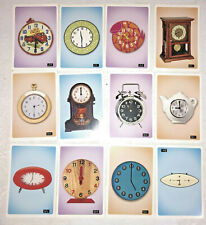 36 How to Tell Time Flash Cards. Preschool learning activity. Educational 5+
