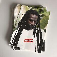 Supreme Buju Banton Sticker 100% AUTHENTIC