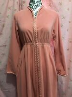 Vanity Fair Shevelva NOS Romantic Velour Velvet Housecoat Bath Lounge Robe NWT