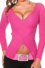 Taillenlange Damen-Pullover & -Strickware aus Viskose