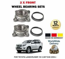 für Toyota Landcruiser 150 3.0DT D4D 2009- > NEU 2x VORDERRADLAGER Satz