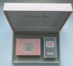 CHRISTIAN DIOR DIORISSIMO EAU DE COLOGNE 26 ML SOAP SAVON 100G SET 2 PCS VINTAGE