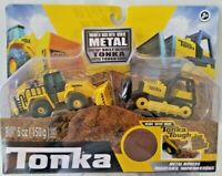 Tonka - Metal Movers Combo Pack - Mighty BullDozer and Front Loader  SERIES 2