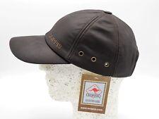 Scippis Leder-baseballcap braun