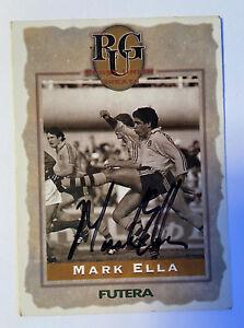 MARK ELLA FUTERA 1995 RUGBY UNION CARD - SIGNATURE AUTO