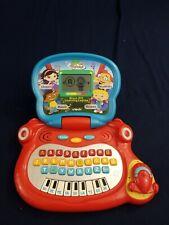 VTech Disney Little Einsteins Blast Off Learning Laptop Games & Music VGUC WORKS
