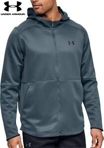 Mens Under Armour hoodie FZ Warm Up sweatshirt fleece hoody women jogging