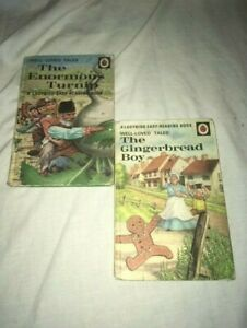 2 ladybird books / The gingerbread boy / the enormous turnip