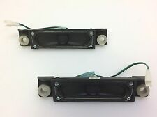 """Samsung LN40A530P1F 40"""" TV Speaker Set left & Right w Cables"""