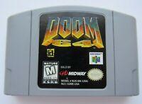 ✅ *GOOD* Doom Nintendo 64 N64 Retro Video Game Cart FPS Super Fun Rare Shooter