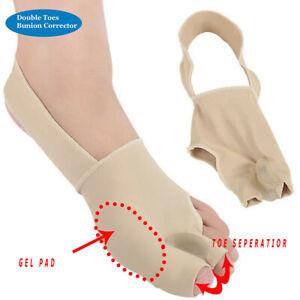 Toes Bunion Corrector Splint Brace Straightener Separator Spacer Hallux Valgus
