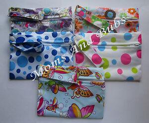Mini Wet Bags for Cloth Menstrual Pads Sanitary Napkin Waterproof Storage
